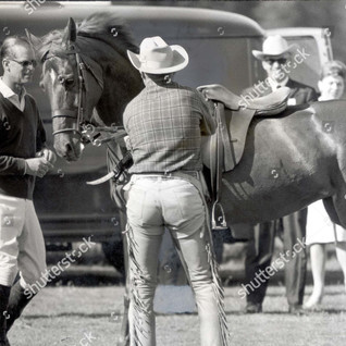 Prince Philip and Bill Collins 1964