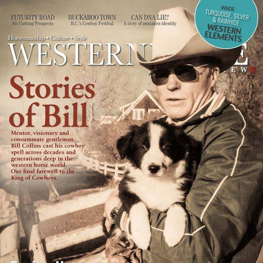 Bill Collins Magazine Cover