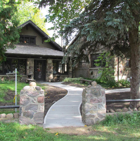 Keillor Log Cabin and Stone House