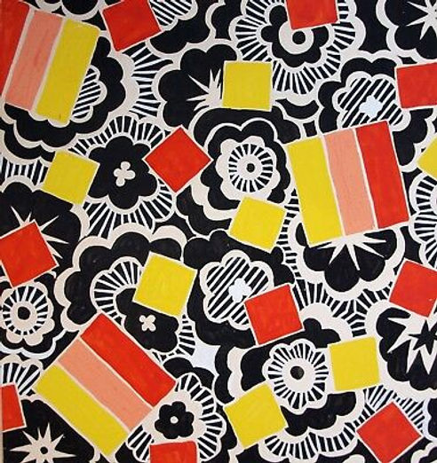 Gouache-on-paper-Design-for-A-Sirooni-Co