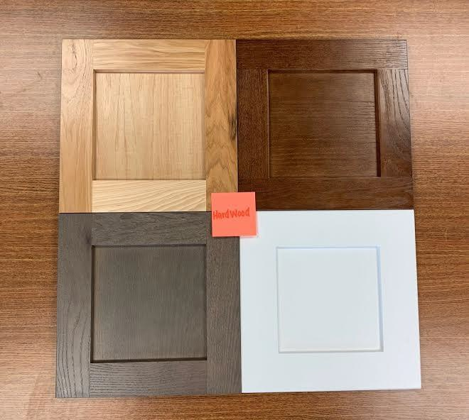 Hardwood Cabinet Selection