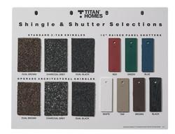 Shingle & Shutter Selections