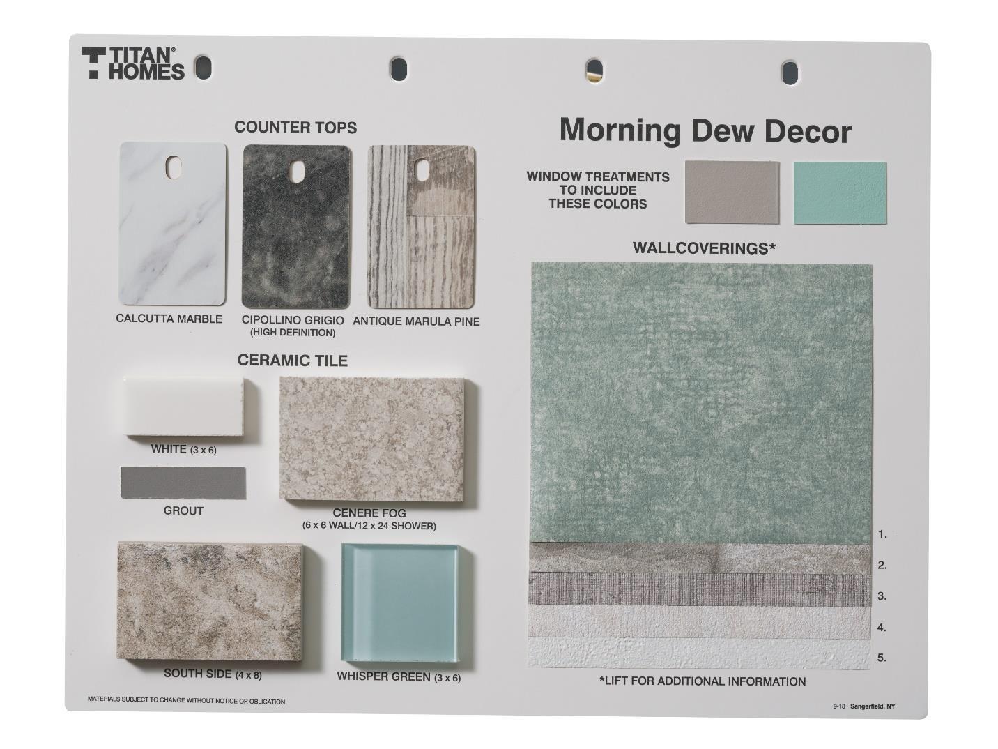 Morning Dew Decor