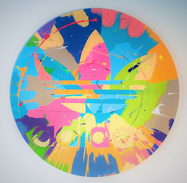Adidas Emblem Kunstwerk Painting
