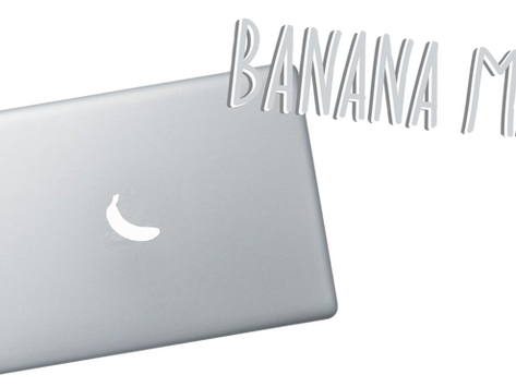 Goals are Like Banana MACs, They Come in Bunches.