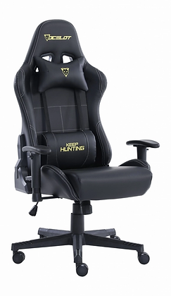 Ocelot Gaming Silla Gamer OGS-01, hasta 150Kg, Negro