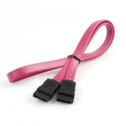 Cable SATA Macho - Macho, 50cm, Rojo