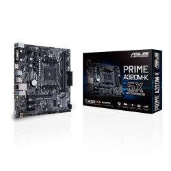 Tarjeta Madre ASUS micro ATX MB PRIME A320M-K, S-AM4, AMD A320, HDMI, 32GB DDR4