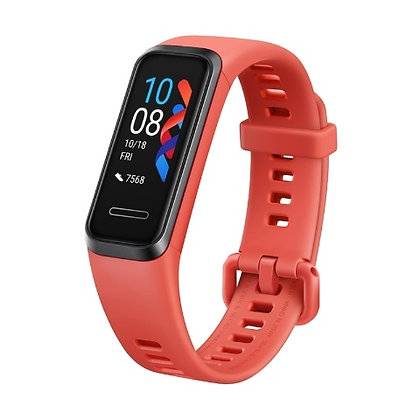 Huawei Smartband Band 4, Touch, Bluetooth 4.2, Android/iOS, Rojo