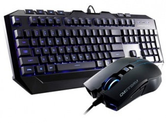 Kit Gamer de Teclado y Mouse Cooler Master incluye Devastator MB24 + MS2K Azul