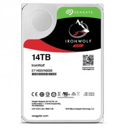 Disco Duro para NAS Seagate IronWolf 3.5'', 14TB, SATA III, 6 Gbit/s, 7200RPM