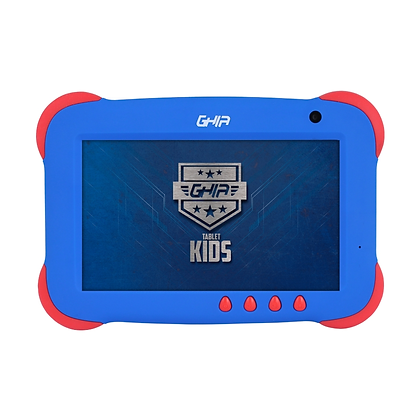 """Tablet Ghia GTKIDS7 7"""", 8GB, 1024 x 600 Pixeles, Android 8.1, Azul"""