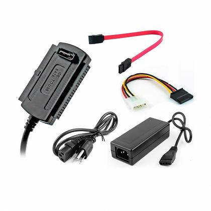 Adaptador para Disco Duro IDE/SATA a USB