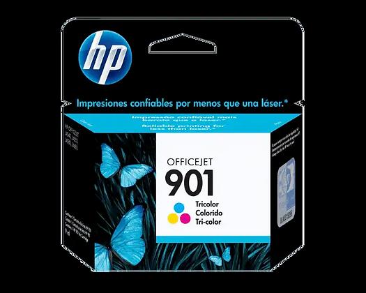 Cartucho de Tinta HP 901. Tricolor