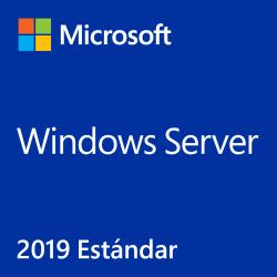 Microsoft Windows Server Standard 2019, 1 Licencia, 16-Core, 64-bit, Español DVD