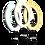 Thumbnail: Aro de Luz Game Factor LRG300 - 30cm - USB - 1.5m - Negro