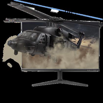 "Monitor Gamer Game Factor MG300 LED 24.5"", Full HD, Widescreen, FreeSync, 75Hz,"