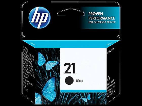 Cartucho de Tinta HP 21. Negro