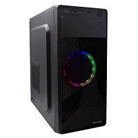 Gabinete Evotec EV-1008 RGB, Midi Tower, ATX/micro ATX, USB 2.0/3.0, Fuente 600W