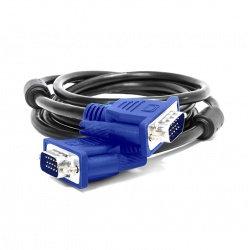 Vorago Cable VGA CAB-106 (D-Sub) Macho - VGA (D-Sub) Macho, 2 Metros, Negro/Azul