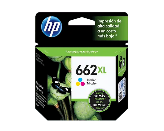 Cartucho de Tinta HP 122XL. Tricolor
