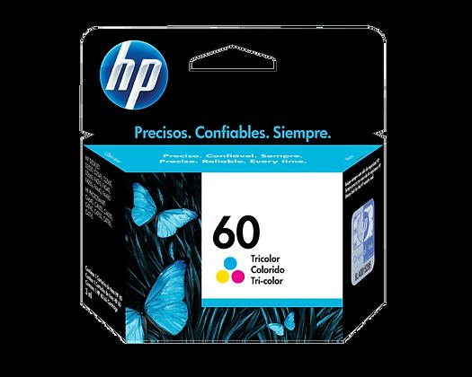 Cartucho de Tinta HP 60. Tricolor