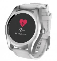 Ghia Smartwatch GAC-144, Touch, Bluetooth 4.0, Android 7.1/iOS 9.3, Plata