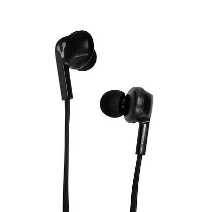 Vorago Audífonos Intrauriculares con Micrófono EPB-100, Inalámbrico, Bluetooth