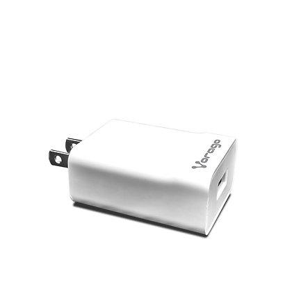 Cargador de Pared Vorago, 5V, USB, Blanco