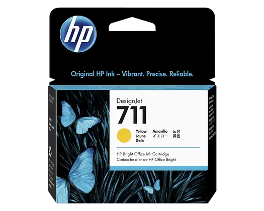 Cartucho de Tinta HP 711. Amarillo