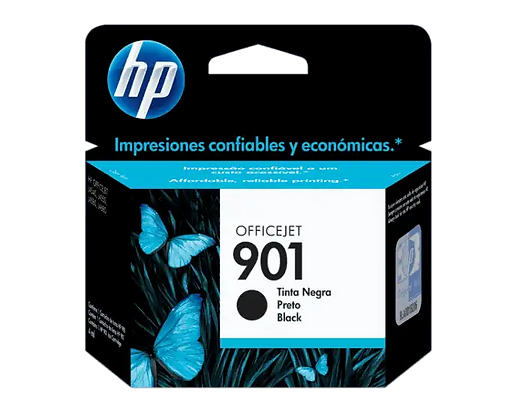 Cartucho de Tinta HP 901. Negro