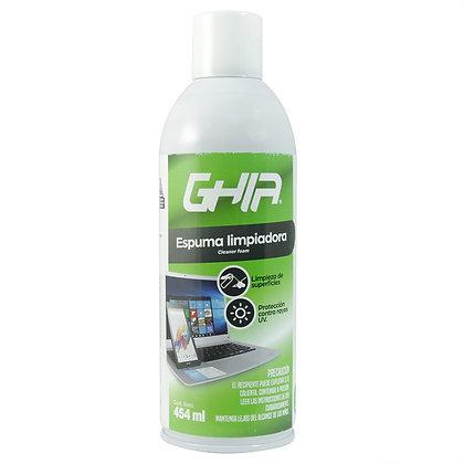 Ghia Espuma Limpiadora GLS-004, 454ml