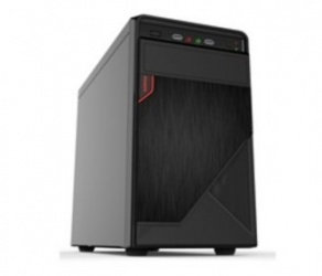 Gabinete Quaroni 92002CB, Midi-Tower, Micro-ATX/Mini-ITX, USB 2.0, Fuente 400W