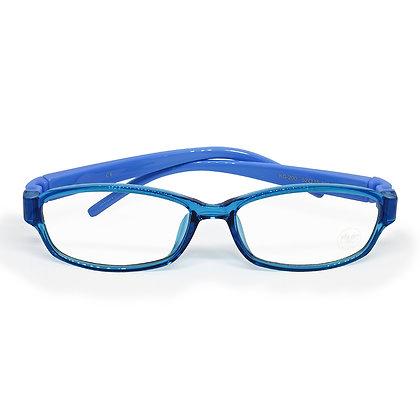 Lentes Kids anti blue light Vorago. Color Azul