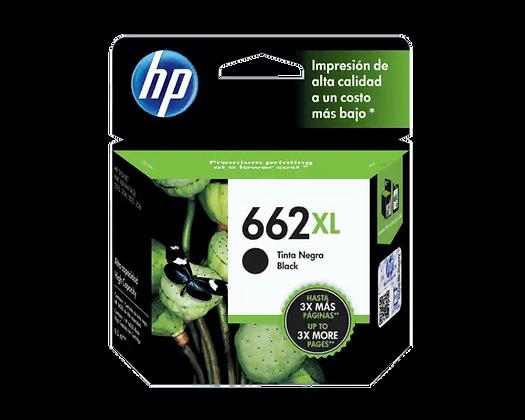 Cartucho de Tinta HP 662XL. Negro