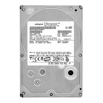 Disco Duro Hitachi Ultrastar 1TB, Caché 32MB, 7200 RPM, SATA II (3.0 Gb/s), New
