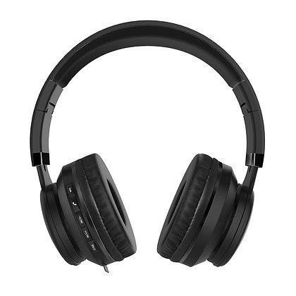Vorago Audífonos con Micrófono HPB-201, Bluetooth, Inalámbrico/Alámbrico, 3.5mm