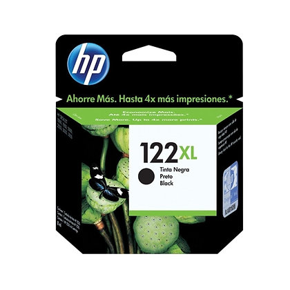 Cartucho de Tinta HP 122XL. Negro