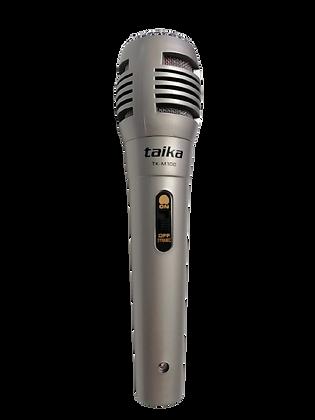 Taika Micrófono, Alámbrico Dinámico TK-M100, Incluye Cable de 3 metros
