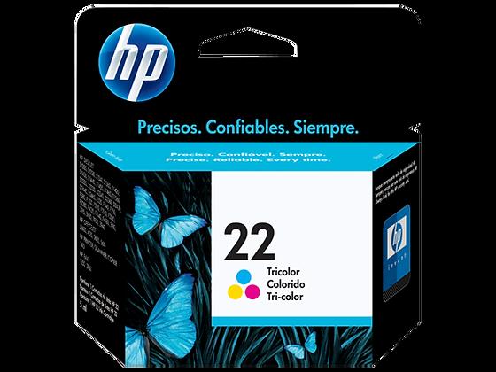 Cartucho de Tinta HP 22. Tricolor