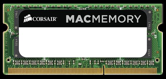 Memoria RAM Corsair DDR3, 1600MHz, 8GB, CL11, SO-DIMM, 1.35v, para Mac
