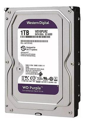 Disco Duro para Videovigilancia Western Digital WD Purple 3.5'', 1TB, SATA III