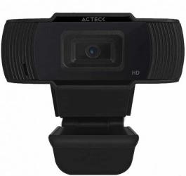 Acteck Webcam WM20, 0.3 Megapíxeles, 1280 x 720 Pixeles, USB, Negro