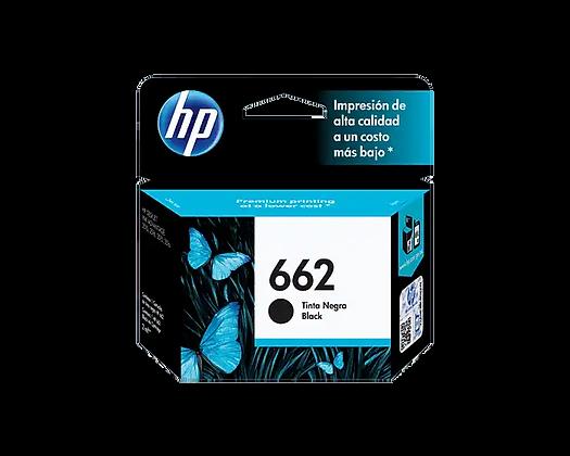 Cartucho de Tinta HP 662. Negro