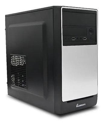 Gabinete Quaroni QCMT03, Tower, Micro-ATX/Mini-ITX, USB 2.0, con Fuente de 400W
