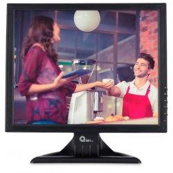 """Qian Monitor Touchscreen 15"""", QMT151901, Negro"""