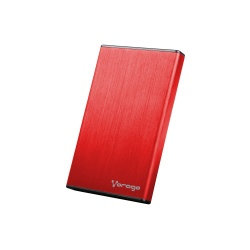 Vorago Gabinete de Disco Duro HDD-102, 2.5'', 2TB, SATA - USB 2.0, Rojo