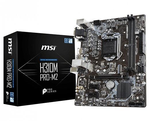 Tarjeta Madre MSI mini-ATX H310M PRO-M2, S-1151, Intel H310M, HDMI, 32GB DDR4