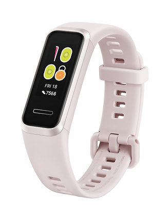 Huawei Smartband Band 4, Touch, Bluetooth 4.2, Android/iOS, Rosa