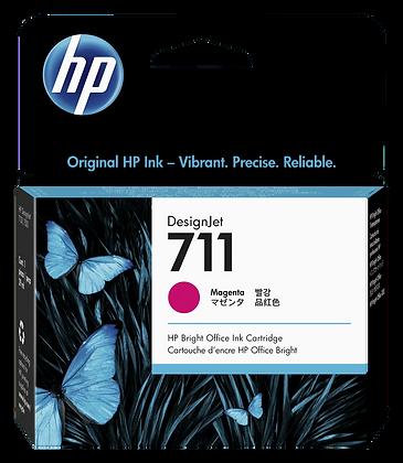 Cartucho de Tinta HP 711. Magenta